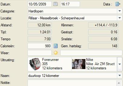 12 kilometer duurloop