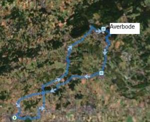 fietstocht naar Averbode - terrasje in 't terugkeren !