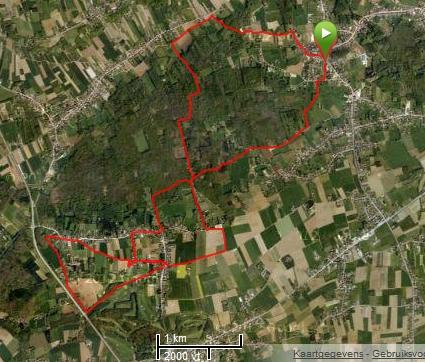 Wijgaardenwandeling Tielt Vlaams Brabant