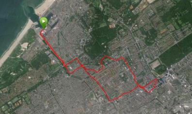 Den Haag fietstocht