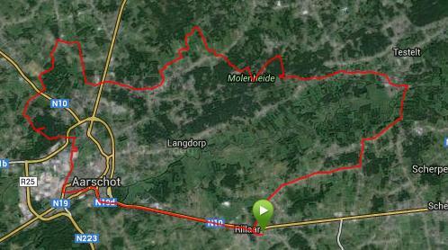 20140412 Route rond Aarschot